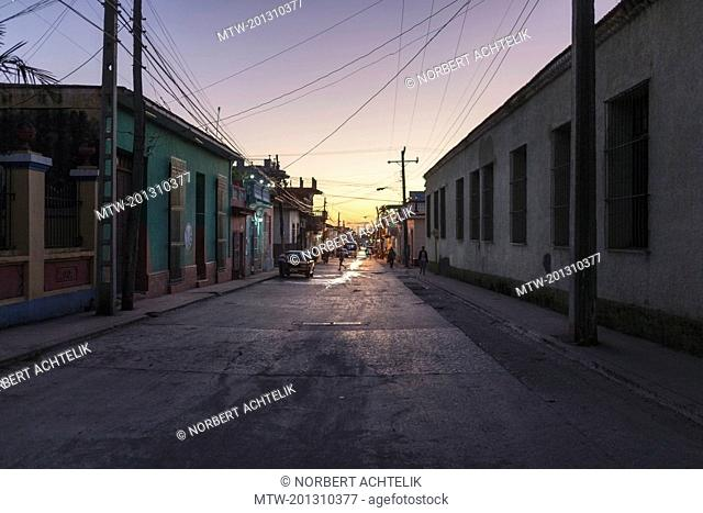 Street scene at Trinidad old town, Cuba