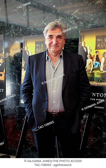 Jim Carter attends the Downton Abbey event at the Linwood Dunn Theater on April 30, 2016 in Los Angeles, California