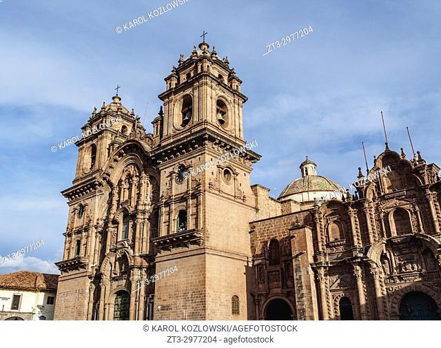 Church of the Society of Jesus, Main Square, Cusco, Peru