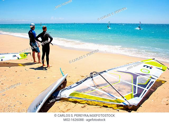 Winsurf in Tarifa, one of the best places in the world for windsurfing