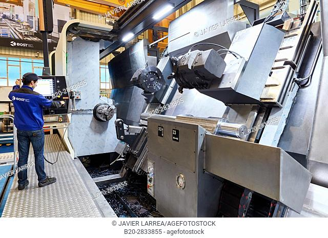 Machining Centre, CNC, Horizontal turning and Milling lathe, Design, manufacture and installation of machine tools, Gipuzkoa, Basque Country, Spain