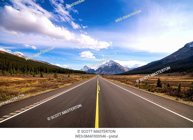 Canada, Alberta, Jasper National Park, Icefield Parkway