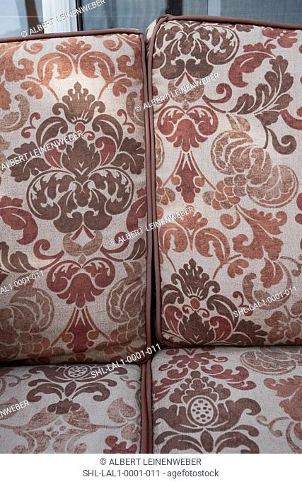 Cushions on patio furniture