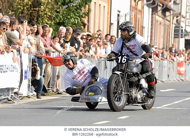 Historical and legendary Dieburger Dreiecksrennen race, Dieburg, Hessen, Germany, Europe