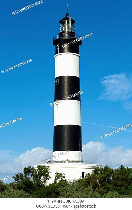 Lighthouse Of Chassiron,Oleron Island, Poitou Charente, Charente Maritime, France