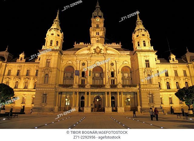 Hungary, Gyor, City Hall