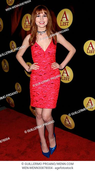 Premiere of 'Galaxy Hope' at Cafe Roma Featuring: Serena Laurel Where: Beverly Hills, California, United States When: 08 Feb 2017 Credit: Guillermo Proano/WENN