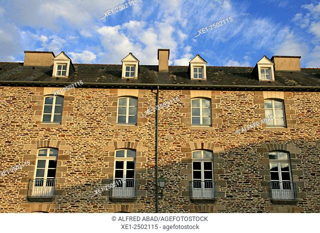 Residential building, Rennes, Brittany, France