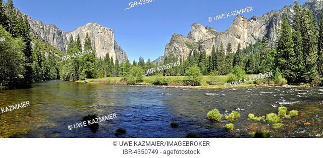 Yosemite Valley and El Capitan, Yosemite National Park, California, USA