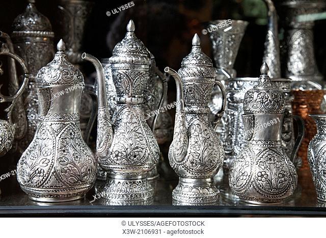 handicraft shop, bascarsija, sarajevo, bosnia and herzegovina, europe