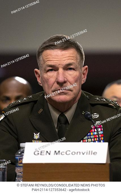 Chief of Staff of the U.S. Army General James McConville, on a panel with Director of Defense Capabilities and Management at the Government Accountability...