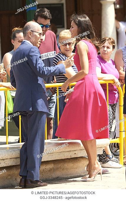 Queen Letizia of Spain attends Meeting of the Council of the Royal Board on Disability and delivery of the 'Queen Letizia 2018 Awards' at Corral de Comedias...