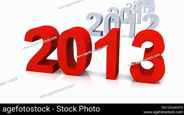 Chronologisch bis 2013 - Rot Grau