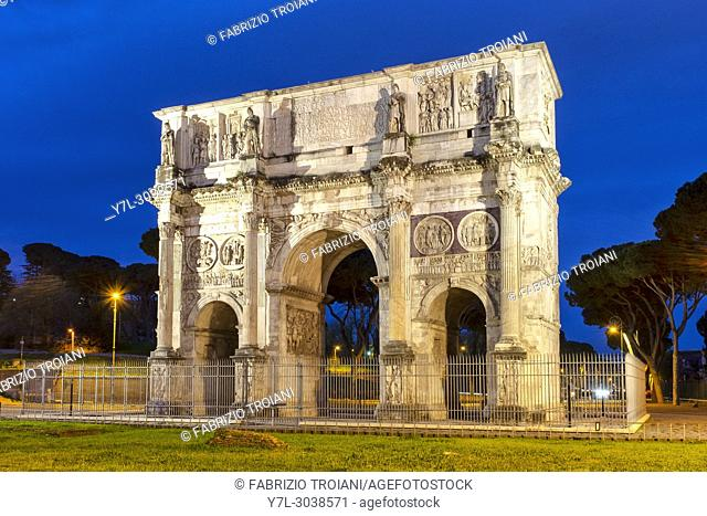 Arch of Constantine, Rome Italy