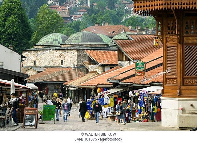 Bosnia and Herzegovina, Sarajevo, Bascarsija Bazaar