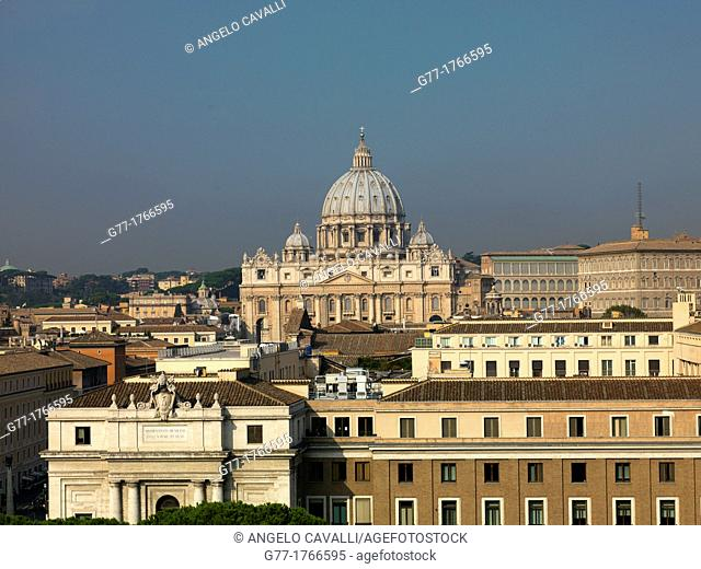 Italy, Rome  Vatican State  St Peter's Cathedral