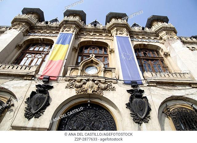 Primaria building the city hall in Craiova, Romania on march 18, 2017