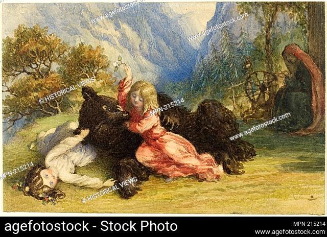 Snow White and Rose Red - Richard Doyle English, 1824-1883 - Artist: Richard Doyle, Origin: England, Date: 1844-1883, Medium: Watercolor over graphite on ivory...