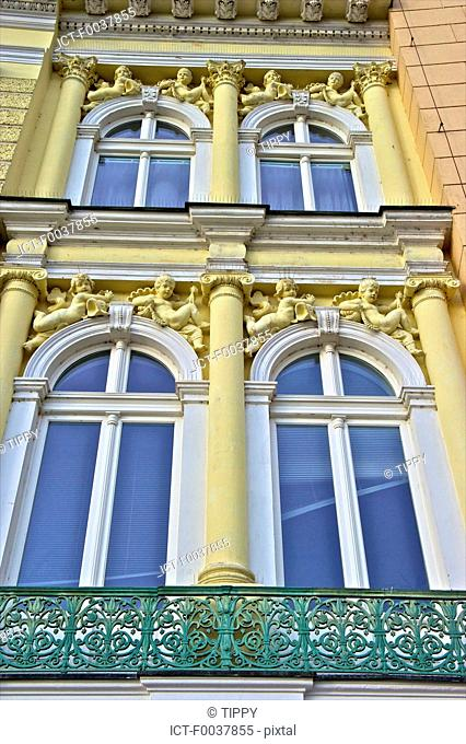 Czech Republic, Prague, facade, baroque style