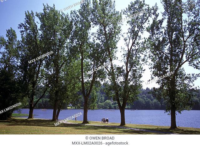 Deer Lake Park, Burnaby, British Columbia, Canada