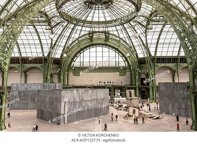 Anselm Kiefer exhibition at Monumenta in Grand Palais, Paris, 2007