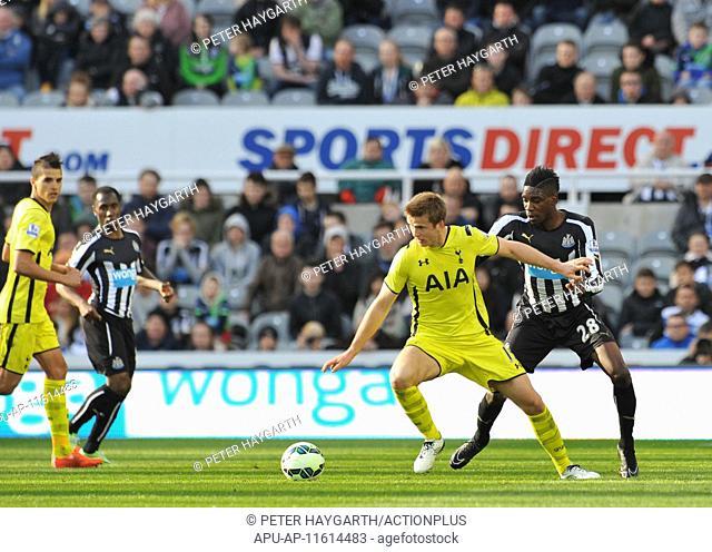 2015 Barclays Premier League Newcastle v Tottenham Hotspur Apr 19th. 19.04.2015. Newcastle, England. Barclays Premier League