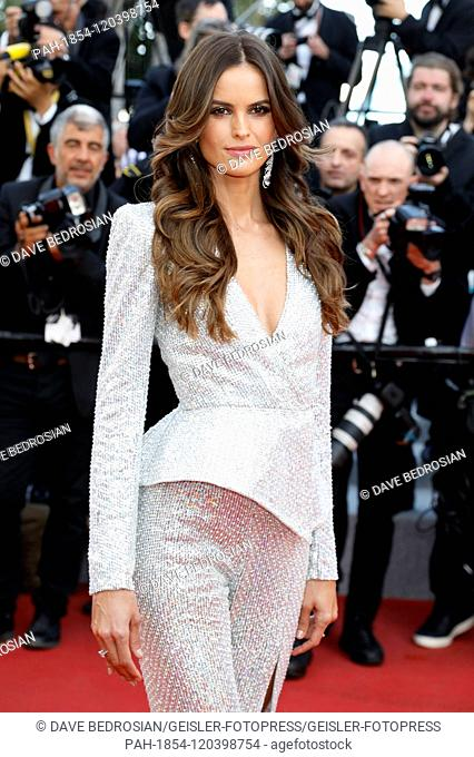Izabel Goulart attending the 'Rocketman' premiere during the 72nd Cannes Film Festival at the Palais des Festivals on May 16, 2019 in Cannes