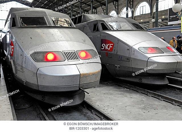 TGV, Gare du Nord, North station, Paris, France, Europe