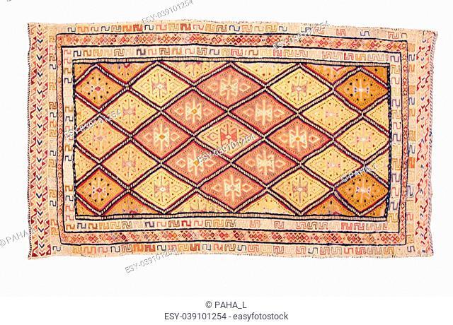 carpet with geometric ornament
