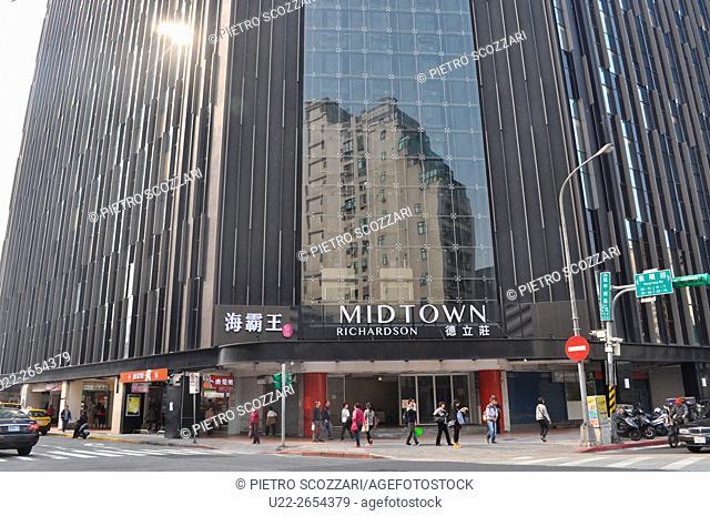 Taipei, Taiwan: the Midtown Richardson Hotel