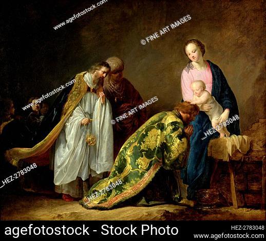 The Adoration of the Magi, 1638. Creator: Grebber, Pieter Fransz de (c. 1600-1652/3)