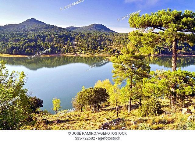 Toba reservoir. Castilla-La Mancha. Spain