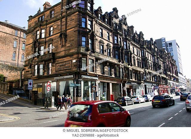 Sauchiehall Street Shops in Glasgow - Scotland