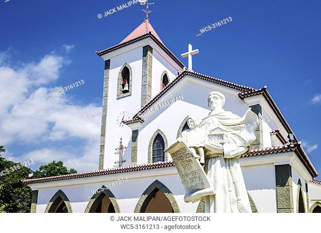 portuguese christian catholic church landmark in central dili city east timor