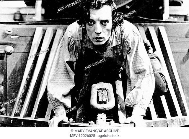 Buster Keaton Characters: Johnny Gray Film: The General (USA 1926) / Stummfilm Director: Clyde Bruckman & Buster Keaton 31 December 1926