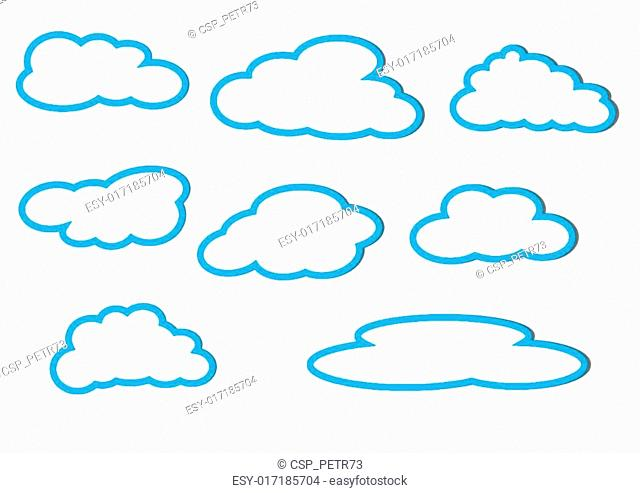 Different clouds