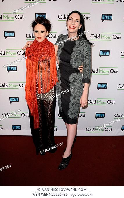 "Bravo's """"Odd Mom Out"""" Premiere - Red Carpet Arrivals Featuring: Stacey Bendet, Jill Kargman Where: Manhattan, New York"