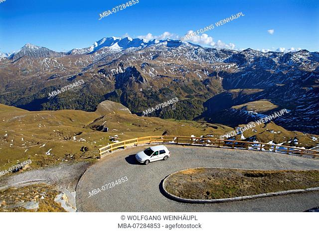 Austria, Carinthia, Grossglockner High Alpine Road