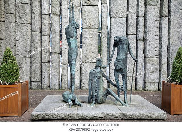 Famine by Delaney, St Stephans Green, Dublin, Ireland