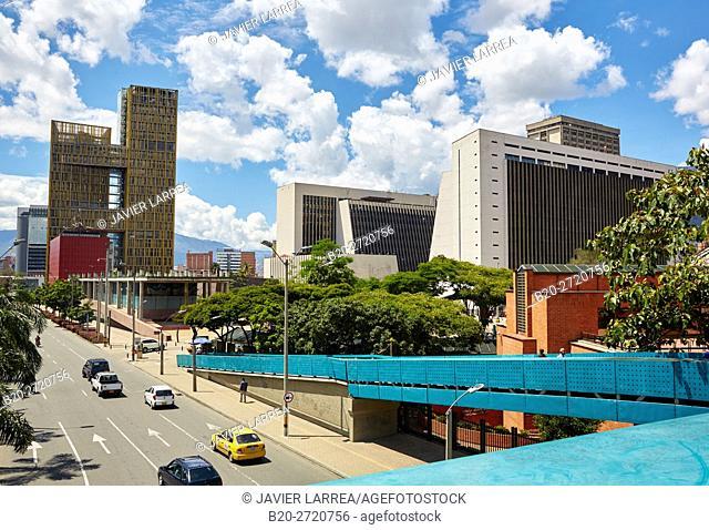 Civic and Cultural Center and Freedom Square, Centro Administrativo La Alpujarra Complex, Medellin, Antioquia department, Colombia