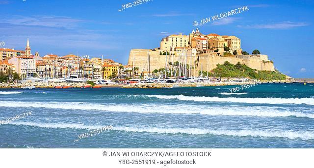 Calvi, Old Citadel, Balagne, Corsica Island, France