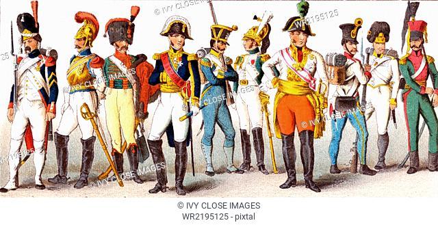 European Military 1800