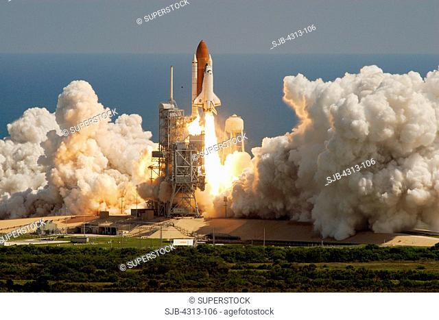 Shuttle Atlantis Launches on STS-115