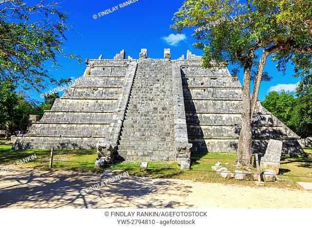 Osario, Chichen Itza, Yucatan Provence, Mayan temple, Mexico