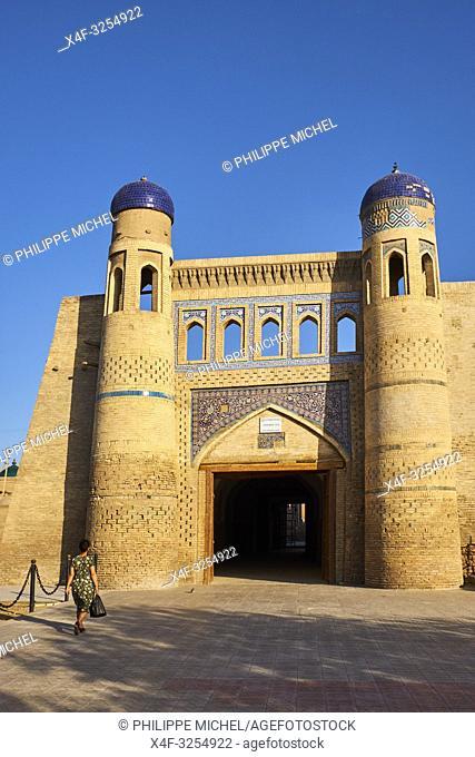 Ouzbekistan, Khiva, patrimoine mondial de l UNESCO, la porte East / Uzbekistan, Khiva, Unesco World Heritage, east door