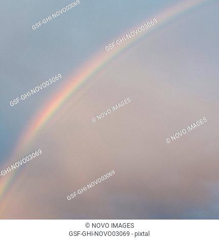 Rainbow in Sky