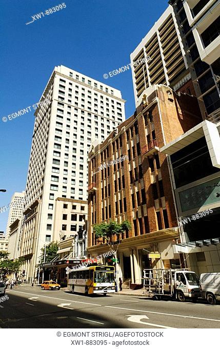 downtown Brisbane, Queensland, Australia