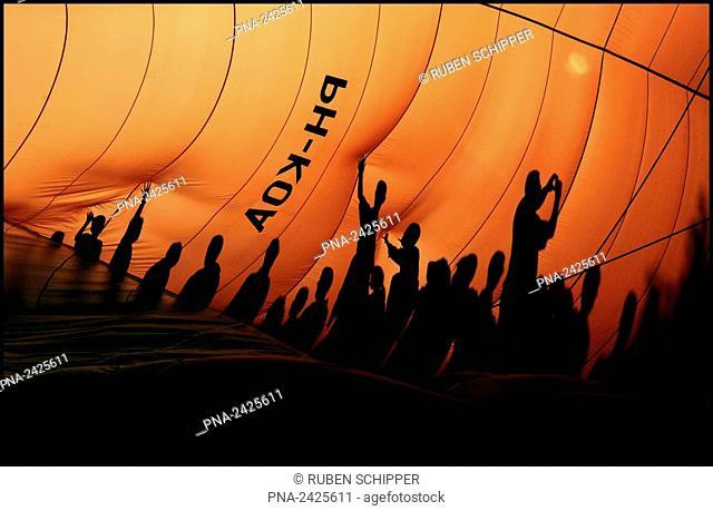 Hot air balloon festival in Harderwijk