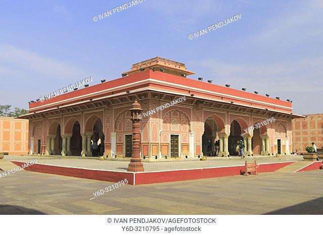 Diwan-I-Khasl, City Palace, Jaipur, Rajasthan, India
