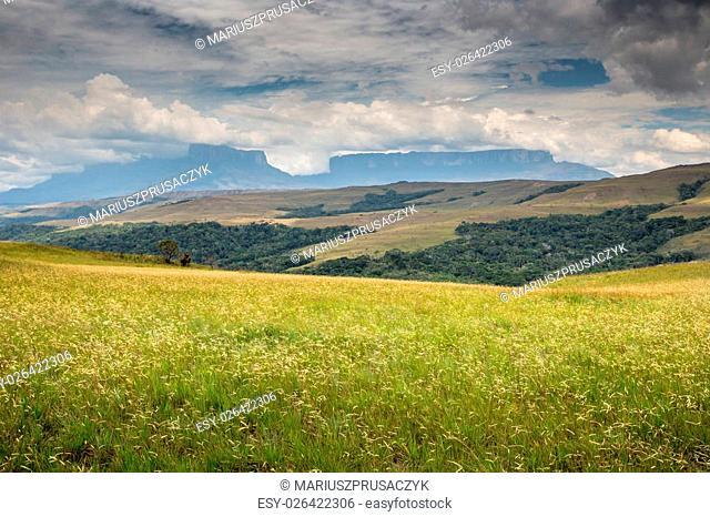 View to Mount Roraima - Venezuela, South America